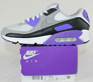 New Mens Nike Air Max 90 in White/Particle Grey Colour Size US 9