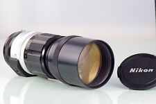 Old Tele Lens Nikon Nikkor-H 300mm F4.5 4.5/300mm for Nikon Ais F Nikkormat