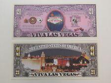 VIVA LAS VEGAS, Nevada: Gambling, Entertainment ~ $1,000,000 One Million Dollars