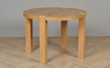 CLEARANCE - Eaton Round Oak Dining Room Table - 105cm