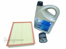VAUXHALL VECTRA C 1.8 SRi SERVICE KIT OIL + AIR FILTER  + OIL 5W30 5L ENGINE OIL