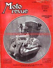 MOTO REVUE 1104 ZUNDAPP 200 Norma GUZZI Mac Intyre Farrant Salon de la MOTO 1952