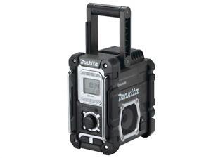 Makita MAKDMR108B DMR108B Bluetooth Arbeit Seite Radio Schwarz 240V & LI-ION