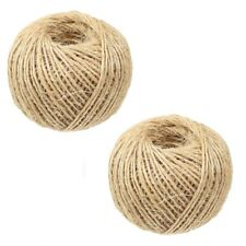 150M SISAL TWINE 2.5mm Thick Brown String Cord Shabby Chic Parcel Gift Wrapping