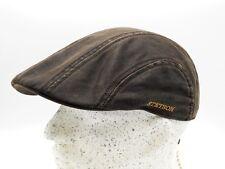 Stetson Madison CO/PE Schiebermütze Flatcap Cap Mütze Vintage Schirmmütze Kappe