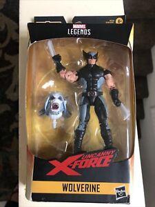 Hasbro WOLVERINE Uncanny X-Force Marvel Legends Wendigo Box Damaged