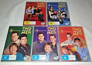 Two And A Half Men Seasons 1,2,3,4,5, DVD