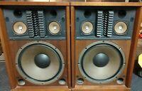 Make offer! Sansui SP-3500 6 Speaker 4-Way Vintage Floor Standing Speakers