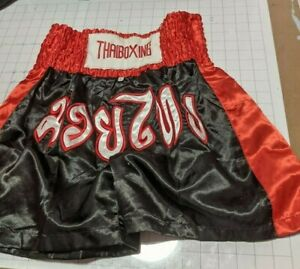 (Aus) MMA Shorts XL THAI BOXING Muay Thai Boxing Red