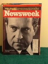 RICHARD M. NIXON YELTSIN RUSSIA DEBTVILLE   POLITICS NEWSWEEK  MAGAZINE 1994