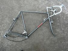 MIYATA 310 ChroMoly 58cm Road Bike Frameset w Fork Headset BB Derailleurs Brakes