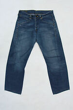 LEVIS 101 Relaxed Fit Jeans Blue Denim Faded Red Tab Size W32 L30 Enginereed