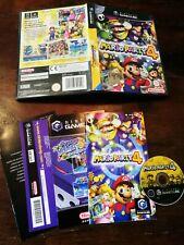 Mario Party 4 Gamecube Perfetta Edizione Italiana Completa Manuale E Punti Vip