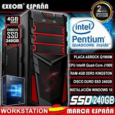 Exeom (1TB, Intel Quad Core, 9.6 GHz, 4 GB) Ordenador de Sobremesa  - Negro - 7426774809817