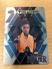 2018 Upper Deck Black Panther Vibranium Metal Card WV-7 (Shuri)