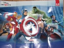 DISNEY INFINITY 2.0 Marvel Super Heroes Power Disc & Action Poster