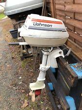 Aussenborder Johnson 4 PS Bootsmotor Kurzschaft 4 hp
