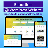 Education Business Sale Affiliate Website Free Installation+Hosting