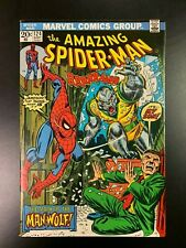 AMAZING SPIDER-MAN #124 - 1ST APPEARANCE OF MAN-WOLF   High Grade  NM-