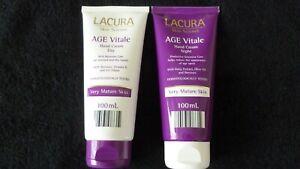 Lacura Age Vitale Hand Cream Day & Night Cream For Stressed & Dry Hands