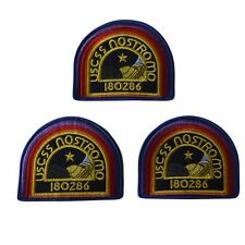 Alien Movie Uscss Nostromo 180286 Embroidered Patch Set of 3