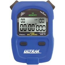 Ultrak 460 - 16 Lap or Cumulative Split Memory Stopwatch