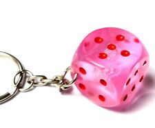 NEW 12 Dice Key chain 20mm Hobby Home Birthday Party Favor Pinata Bag Carnival
