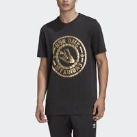 Adidas Run DMC T Shirts All Size Gold Logo Men's Originals- GT1763 Expeditedship