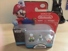 NINTENDO Mario Bros U Micro Figure 3-Pack Fire Luigi/Dry Bones/Boo Action Figure