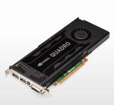 NVIDIA Quadro k4000 3gb VRAM CAD Scheda grafica 2x DisplayPort DVI PCI Dell 0d5r4g