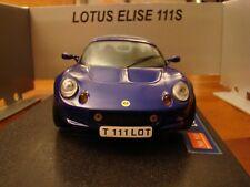 1/18 Lotus Elise S1 111S Roadster Hard-Top Rare Azure Blue