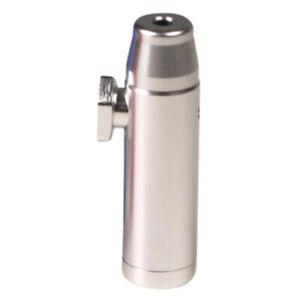 Schnupf-Flasche Schnupf-Tabak-Dosierer-Spender SILBER