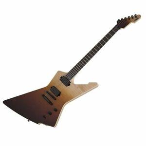 Schecter E-1 SLS Elite - Antique Fade Burst Electric Guitar Fishman Fluence P/up