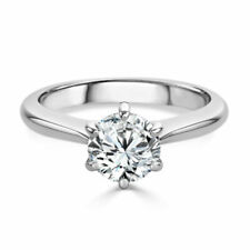 2.00 Ct. 14k White Gold Round Cut Halo Diamond Engagement Ring