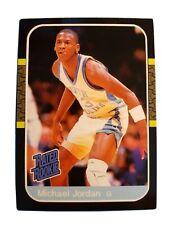 Michael Jordan University North Carolina Tar Heels Novelty Basketball Card !