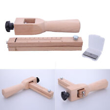 Adjustable Wood Craft Strip & Strap Belt Cutter Tandy Leather Hand Cutting Tools
