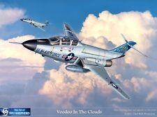 ART PRINT: F-101 Voodoo - Print by Shepherd