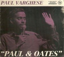 Paul Varghese - Paul & Oates (CD & 2013) FREE UK P&P; **NEW/SEALED**