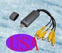 4 CHANNEL Video CAPTURE USB DVR SURVEILLANCE SYSTEM D1