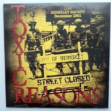 Toxic Reasons - Live Berkeley Square: December 1981 LP Record Vinyl - BRAND NEW