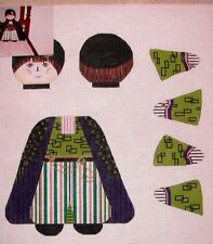 KW 1315 Tanya 3D Doll Hand Painted Needlepoint Canvas