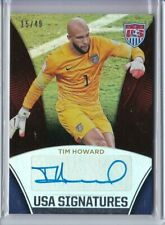2015 Panini USA Soccer National Team TIM HOWARD Holo AUTO Autograph 15/49