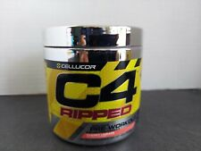 Cellucor C4 Ripped Pre Workout (30 Servings) - Cherry Limeade New Sealed - 07/21