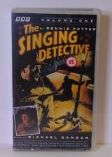 The Singing detective Vol 1 and Vol 2 -  2 x VHS Excellent Condition (PAL)