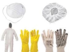 Protection Vêtements Peintre Set 13-tlg Costume Tenue Gants Résille Staub Masque