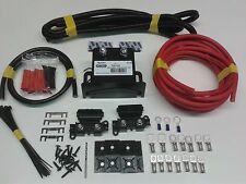 5mtr Split Charge Relay Kit,12v 180amp Intelligent (VSR) Relay 110amp Cable