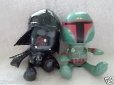 Star Wars Stuff Toy Darth Vader Bobo Fett Galerie 2010 Lucas Films 8 Inches