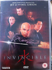 Billy Zane Dominic Purcell Invincible ~ 2001 Artes Marciales Película GB DVD