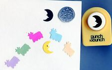 Small Moon Paper Punch by Punch Bunch Quilling-Scrapbooking-Car dcraft