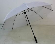 """NEW GUSTBUSTER Pro Series 62"""" Vented Windproof White Golf Sport Umbrella"""